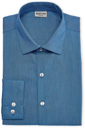 Kenneth Cole Reaction Water Slim Fit Dress Shirt