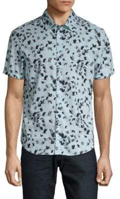 Original Penguin Flying Birds Button-Down Shirt