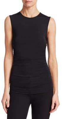 Theory Ruched Sleeveless Top