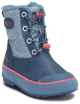 Keen Elsa Waterproof Faux Fur Lined Snow Boot (Little Kid)