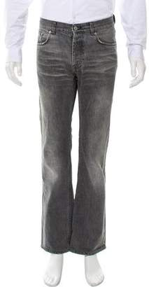 Helmut Lang Vintage Distressed Bootcut Jeans
