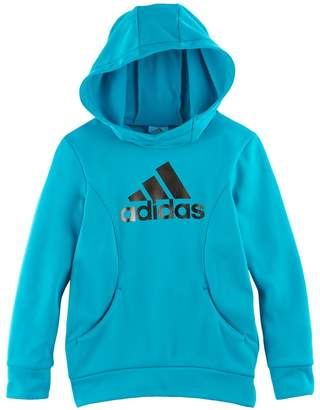 adidas Girls 4-6x Foil Performance Hoodie