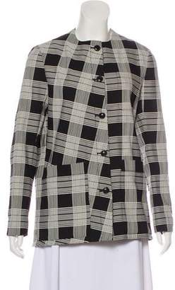 Maiyet Plaid Button-Up Jacket w/ Tags