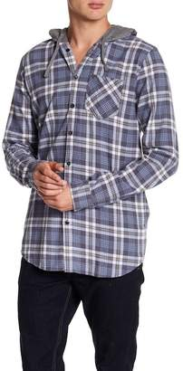 Cotton On & Co. Rugged Plaid Hooded Shirt
