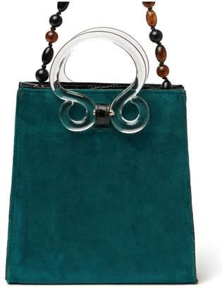 Lizzie Fortunato Pronto Handbag In Teal