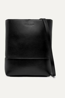 Bottega Veneta Leather Shoulder Bag - Black