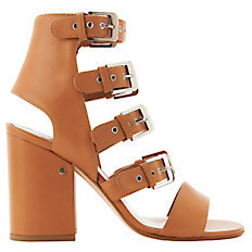 Laurence Dacade Kloe Buckled Leather Sandals $970 thestylecure.com