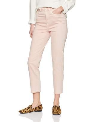 Only Women's onlEMILY HW Straight Coloured DNM Jeans Pink Rose Quartz 29W x 34L