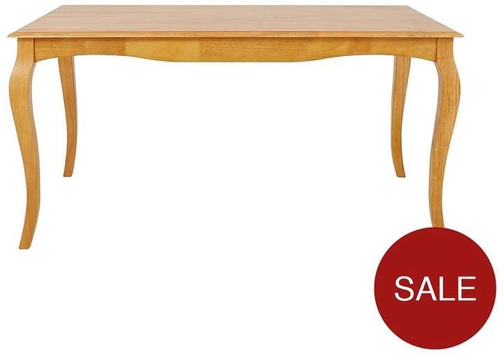 Alisha 150 Cm Solid Wood Dining Table