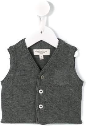 Cashmirino V-neck cardigan