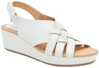 Me Too Leather Wedge Platform Sandals - Alexi