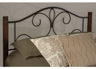 Hillsdale Furniture Destin Bed with Metal Frame, Multiple Sizes and Colors
