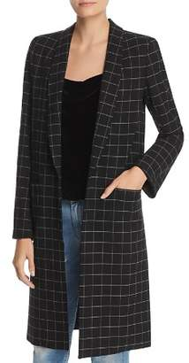 Alice + Olivia Kylie Windowpane Jacket