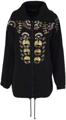 Dries Van Noten Black Wool Blend Jacket.
