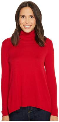 Tribal Turtleneck Tunic Sweater Women's Sweater