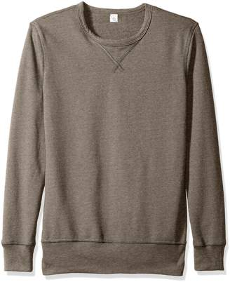 Alternative Men's Sport French Terry B-Side Reversible Crew Neck