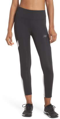 New Balance Q Speed Crop Running Tights