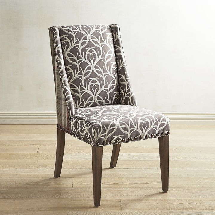 Pier 1 Imports Owen Extra Points Antler Plaid Dining Chair ShopStyle