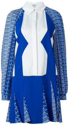 Kenzo 'Diagonal Stripes' dress