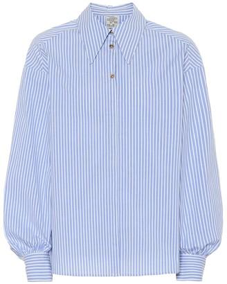 Baum und Pferdgarten Micky striped stretch-cotton shirt