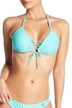 Body Glove Strappy Front Bikini Top