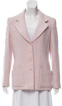 Chanel Tweed Wool-Blend Blazer