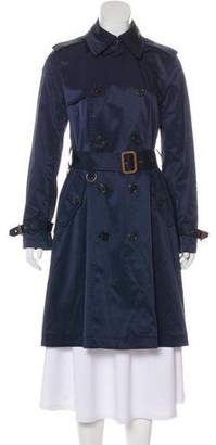 Ralph Lauren Double-Breasted Knee-Length Coat