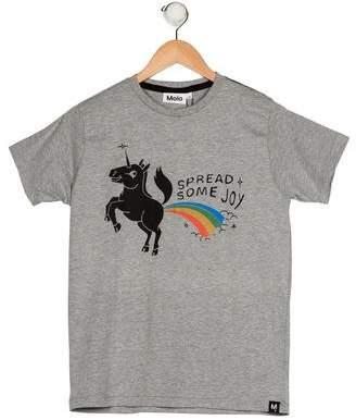 Molo Boys' Printed Knit Shirt w/ Tags