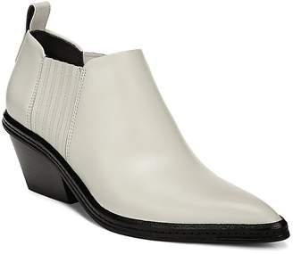 Via Spiga Women's Farly Leather Ankle Booties
