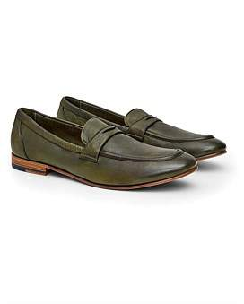 Calibre Dip Dye Leather Loafer
