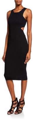Pinko Betty Sleeveless Cutout Bodycon Dress
