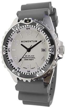Momentum Women's Quartz Watch   M1 Splash by Momentum  Stainless Steel Watches for Women   Dive Watch with Japanese Movement & Analog Display   Water Resistant ladies watch with Date -Lume / Rubber