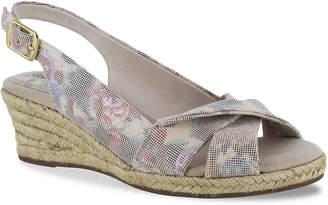 Easy Street Shoes Maureen Espadrille Wedge Sandal - Women's
