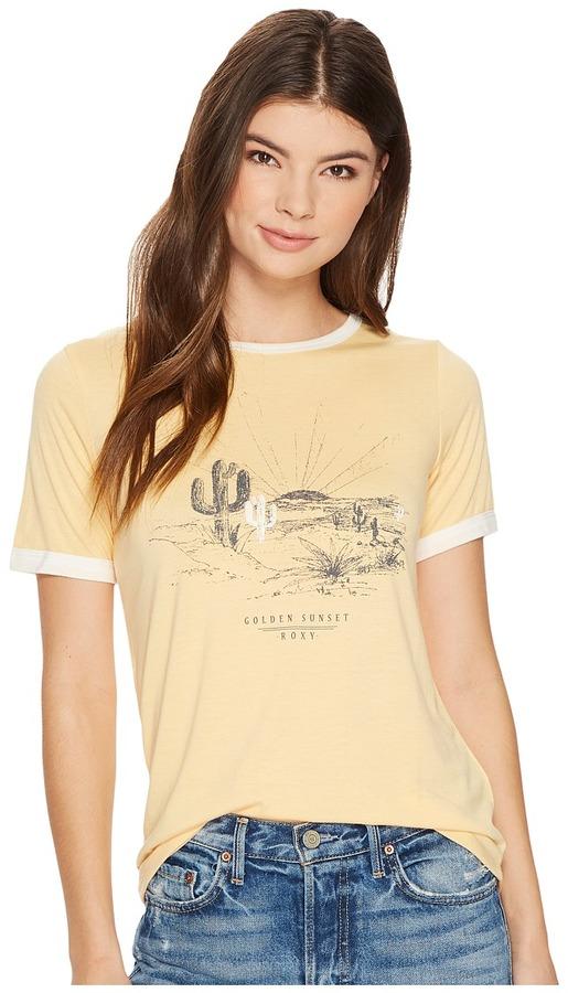 Roxy - Puerto Pic Golden Sunset Screen Tee Women's T Shirt