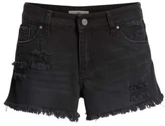 BP Fray Hem Denim Shorts