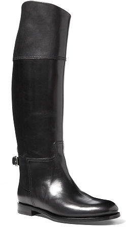 Ralph Lauren Sallen Burnished Calfskin Boot