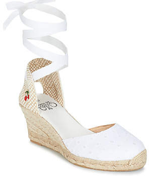 Le Temps Des Cerises POLY women's Espadrilles / Casual Shoes in White
