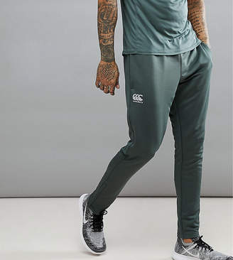 Canterbury of New Zealand Tapered Stretch Joggers In Khaki Exclusive To ASOS