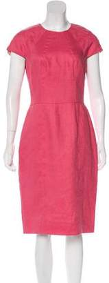 Lela Rose Linen Midi Dress w/ Tags