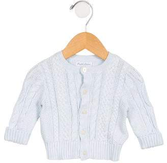 Ralph Lauren Girls' Cable Knit Long Sleeve Cardigan