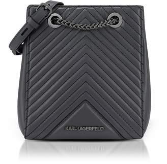 Karl Lagerfeld K/Klassik Quilted Bucket Bag