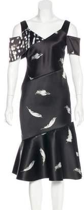 Prabal Gurung 2016 Flounce Dress