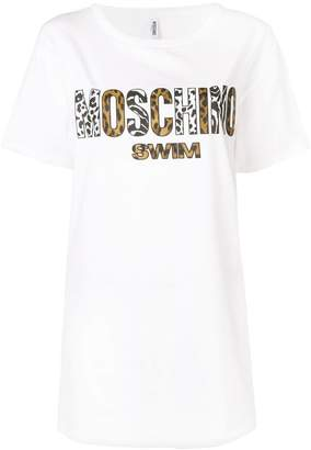 Moschino animal print T-shirt