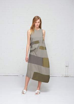 Yohji Yamamoto Y's by Patchwork Dress