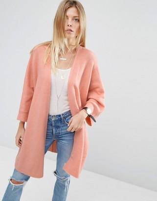 ASOS Cardigan in Oversized Shape $49 thestylecure.com