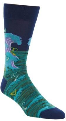Men's Bugatchi Surfer Socks $19.95 thestylecure.com