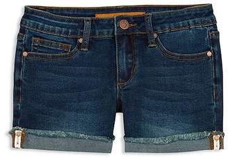 Joe's Jeans Girls' The Markie Roll-Up Denim Shorts - Big Kid