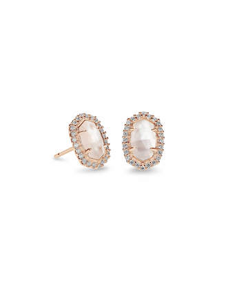 Kendra Scott Cade Stud Earrings in Rose Gold