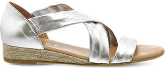 Office Hallie metallic-leather sandals