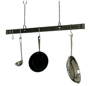 Enclume USA Handcrafted Gourmet Ceiling Adjustable Bar Pot Rack